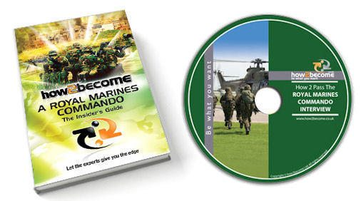 The Royal Marines Commando 200 page book and 60 minute DVD!