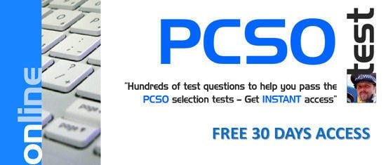 Free 30 days access to PCSO Tests!