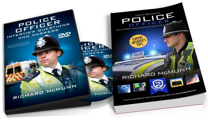 Pass the Police Officer Interview DVD and Book Package