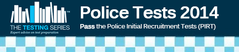 Police Initial Recruitment Tests (PIRT) 2014