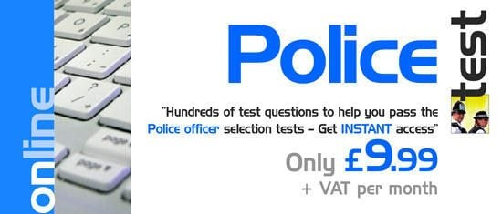 Police Test questions - Instant access