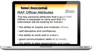 Become an RAF Officer