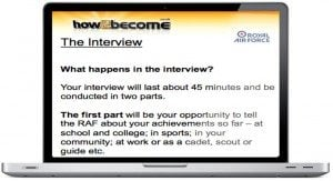 RAF Officer Interview Questions