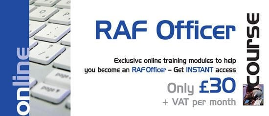 Exclusive Online RAF Officer training course