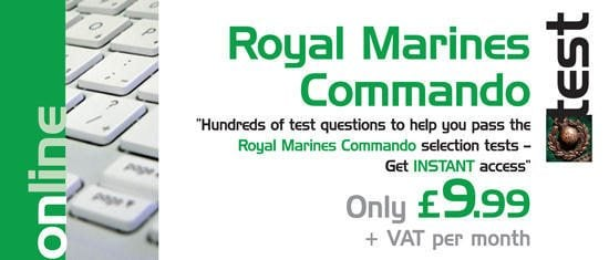 Royal Marines Tests - Get instant access