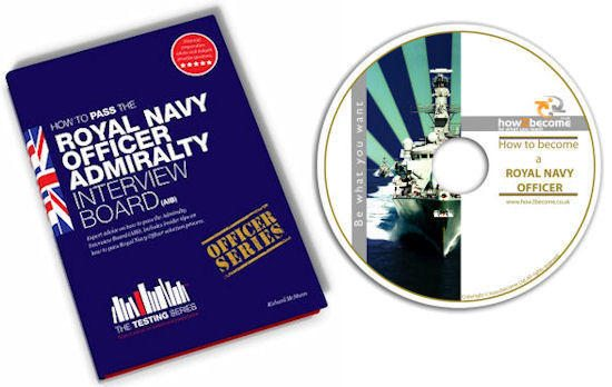 Royal Navy Officer Admiralty Interview Board book and DVD