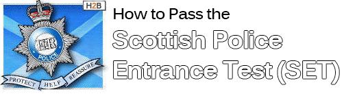 Scottish Police Entrance Test Banner