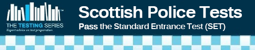 Scottish Police Tests Banner