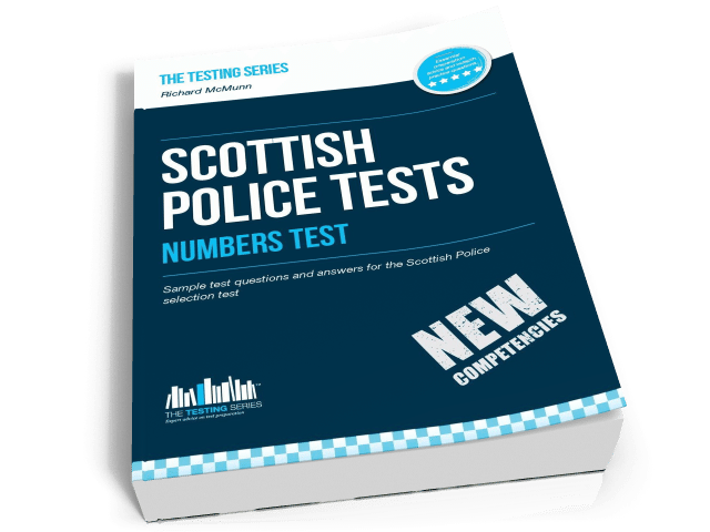 Scottish Police Tests Numbers
