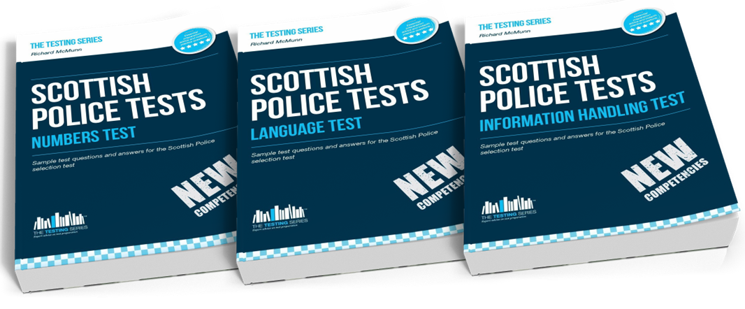 Scottish Police Tests Practice Papers Pack