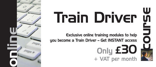 Online Train Driver Course!