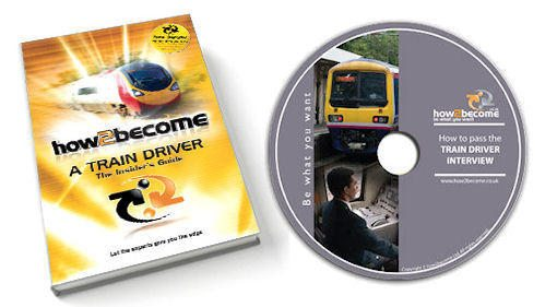 How to become a Train Driver Book and interview DVD!