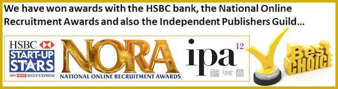 We have won numerous Awards!