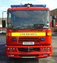 Uk Dennis Fire Engine