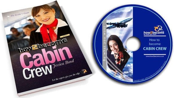How to become Cabin Crew 110 page book and Interview DVD!