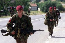 The Parachute Regiment on patrol