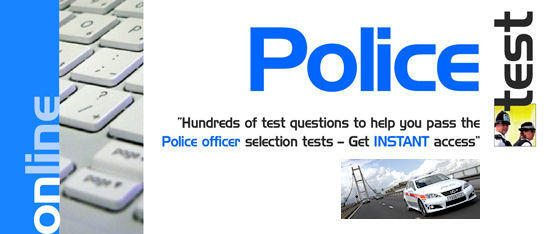 Police Tests - 30 Days FREE Access!