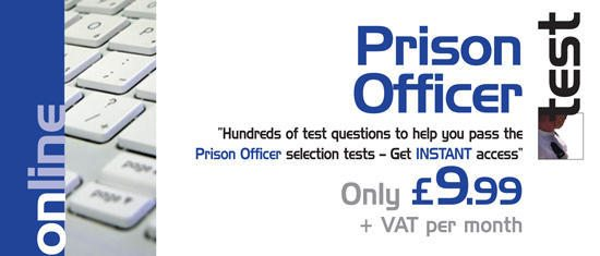 Prison Officer Tests!