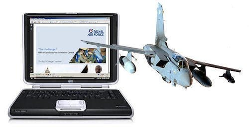 Online RAF Officer Training Course