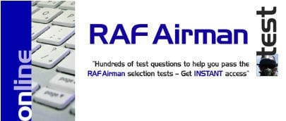 RAF Airman Tests - 30 Days FREE Access!