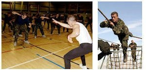 Royal Marines Fitness Training