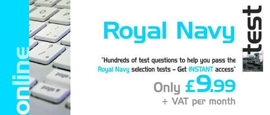 Instant Access to 100's of Royal Navy Test Questions!