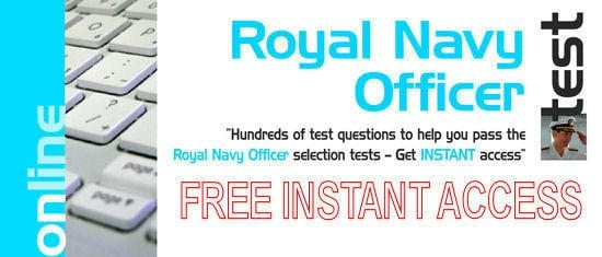 FREE Access to Royal Navy Officer Tests