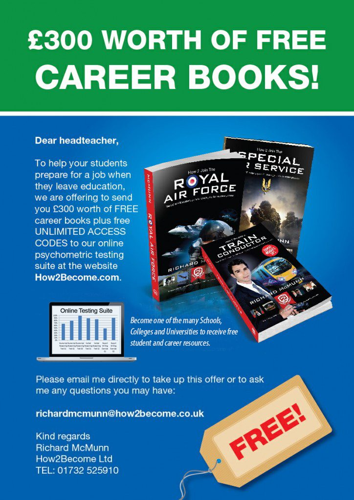 School Poster for Free Career Resources