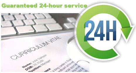 A Guaranteed 24-Hour service!