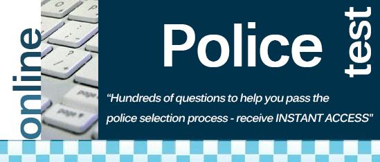 Online Police Tests Banner
