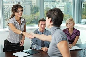 First impressions at a job interview are crucial to your success