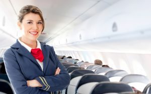 Work as a member of an Airline Cabin Crew