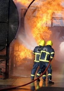 The qualities needed to become a Fire Fighter