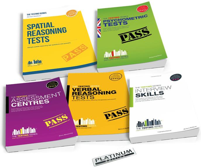 Spatial Reasoning Tests Platinum Package