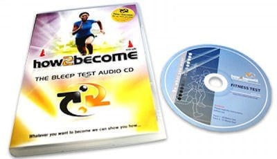 bleep test cd