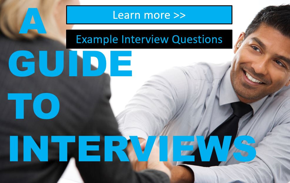 Example Job Interview Questions
