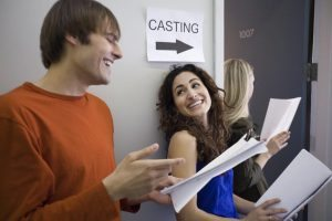 Getting an acting audition can be tough