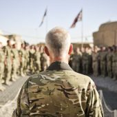 The army's role in operation temperer is more important than ever before