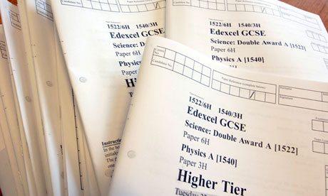 GCSE exam paper