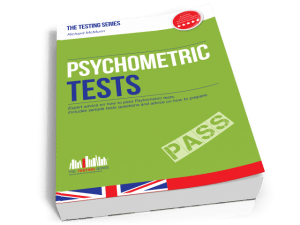 Psychometric Tests Book Cover