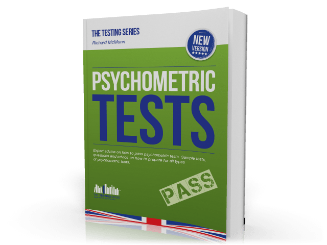 Psychometric and Aptitude Tests 2015 Version - Practice and Pass Workbook Cover