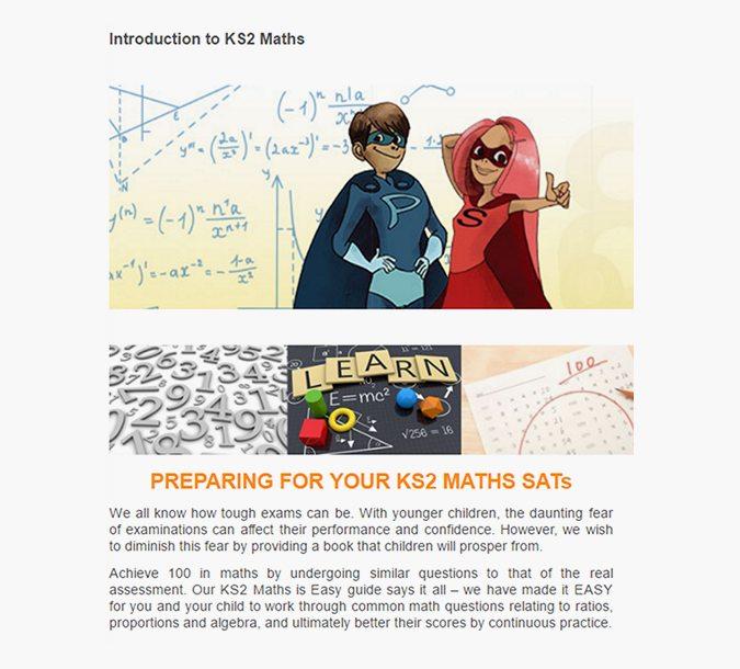 INTERDUCATION TO KS2 MATHS