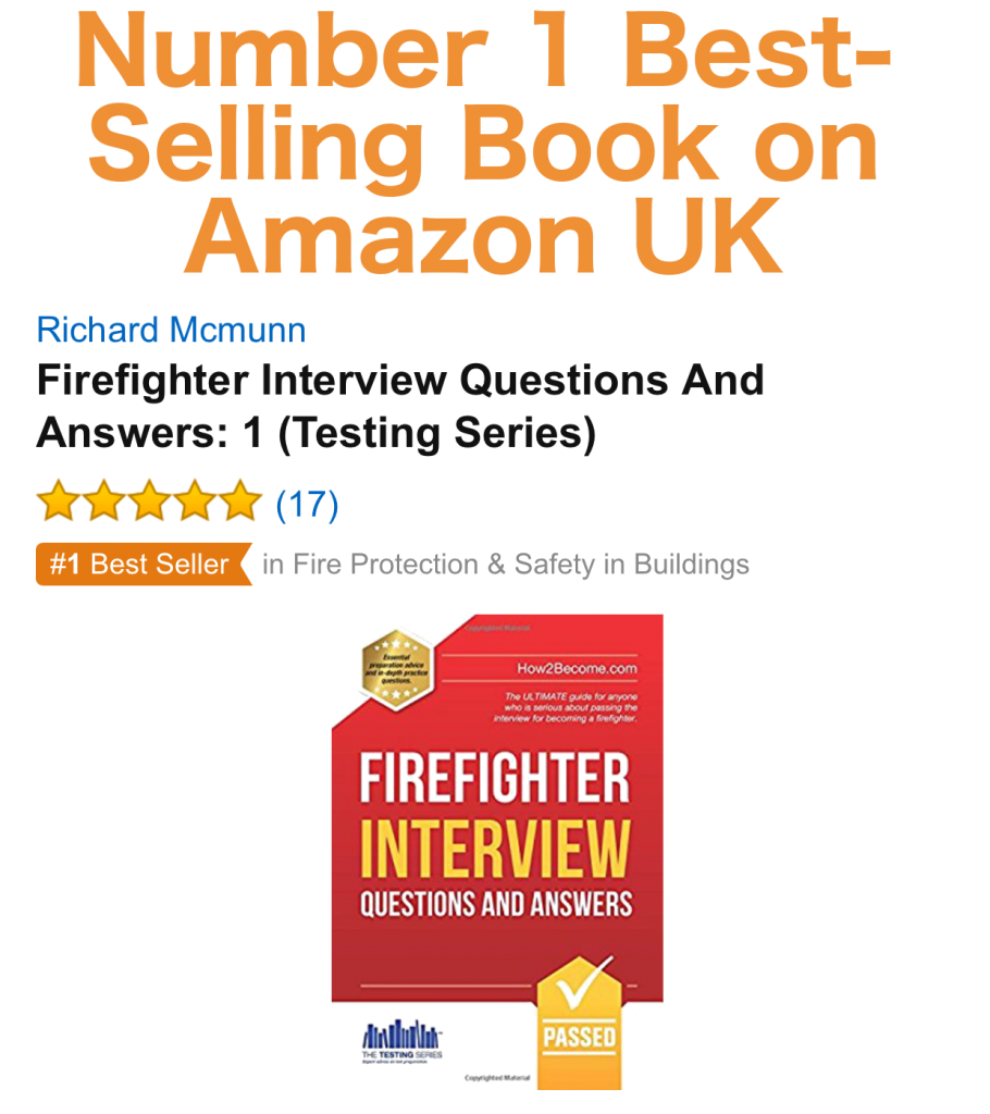 firefighter interview questions answers howbecome how to pass the firefighter interview best selling book on amazon