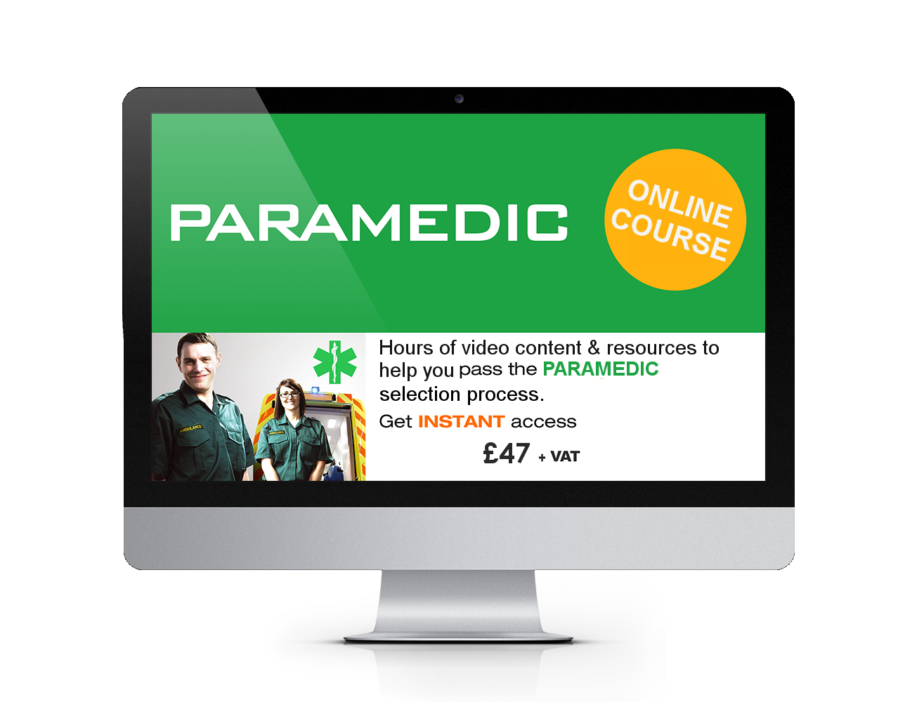 Online paramedic training course how2become intensive paramedic course online recruitment training course 87 47 xflitez Gallery
