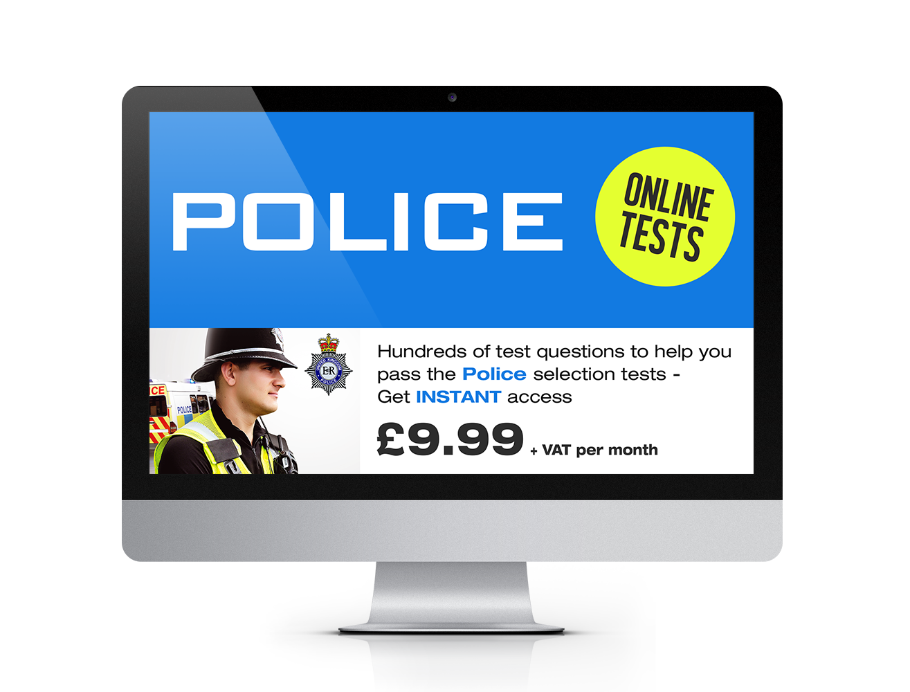 online police tests 100s of test questions how2become online police tests