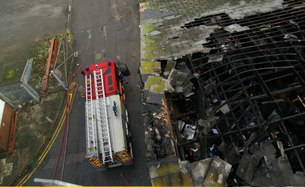 how-to-become-a-fire-fighter-arial-view-of-fire-engine