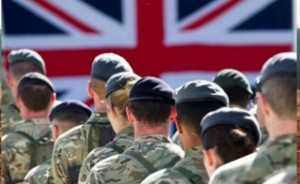 Theresa May has emphasised the army's role in operation temperer