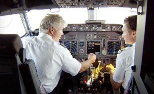 Airline Pilot Cross-Hair Test