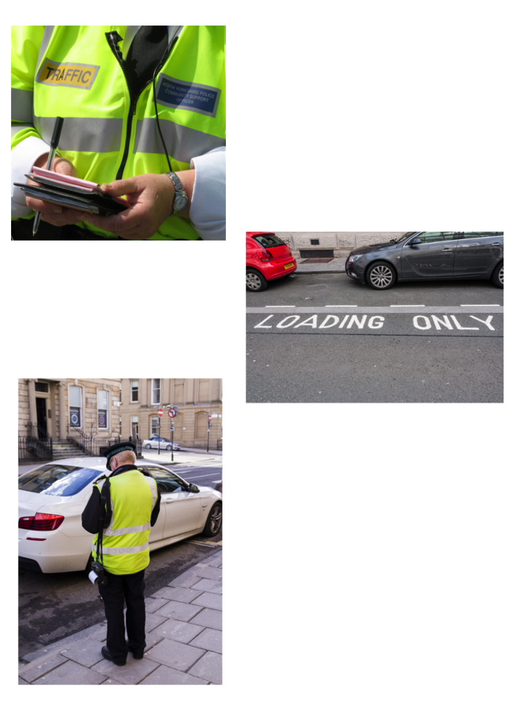How-to-become-a-traffic-warden-car-getting-a-ticket-loading-only-bay