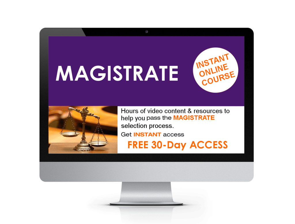 Online Magistrate Course Instant Access Product Image